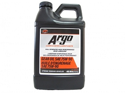 130-104  ARGO GEAR OIL 75W-90 SYNTHETIC